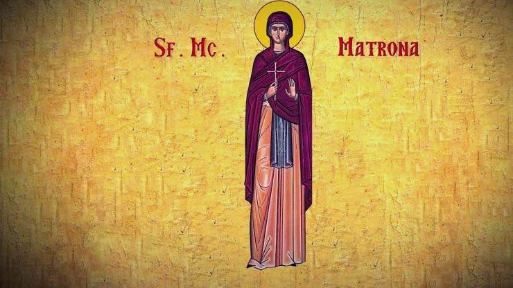 Sfanta Matroana 27 martie
