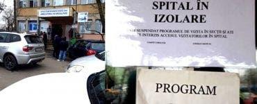 Stare de urgență în spitalele din Capitală! Unitățile medicale au limitat accesul persoanelor din cauza coronavirusului
