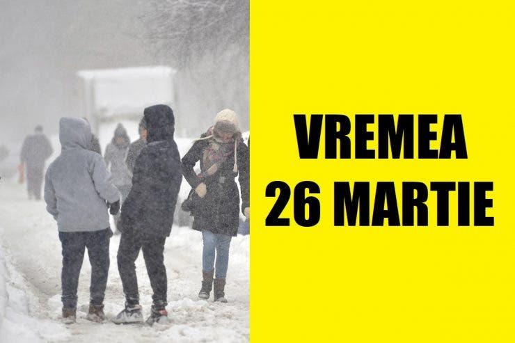 vremea 26 martie