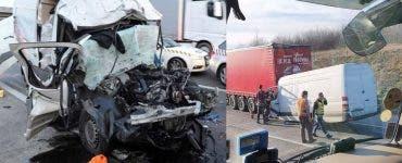 Accident grav în Ungaria. Un tânăr român a intrat cu 130 km/h sub un TIR