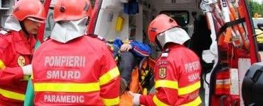 Un bărbat a căzut de pe acoperișul de la Sala Polivalentă din Arad. Bărbatul a fost găsit inconștient