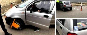 Scandal la LIDL. Mai mulți clienți s-au trezit cu roțile de mașini blocate