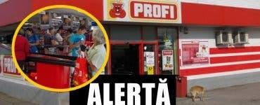 Înșelătorie în magazinele Profi