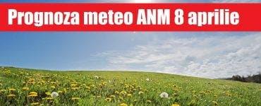 Prognoza meteo ANM 8 aprilie. Cum va fi vremea în București, Iași, Constanța sau Cluj – meteorologii anunță o încălzire a vremii