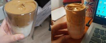 Rețetă cafea Dalgona coffee