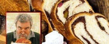 Rețeta de cozonac a lui Radu Anton Roman. Care este secretul aluatului, potrivit celui mai mare gastronom român
