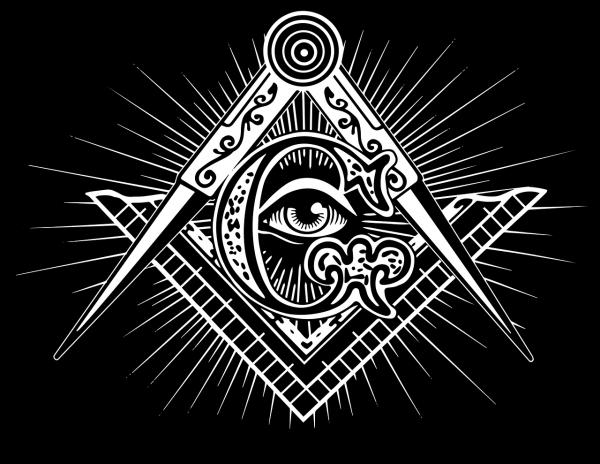 """Simbolurile masonice sunt cele """"Trei Mari Lumini"""" Echerul, Compasul si """"Volumul Sfintei Legi"""""""
