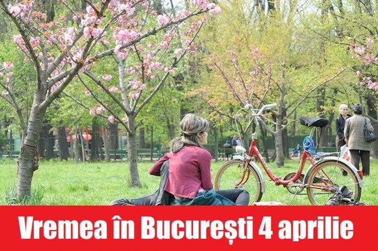 Vremea în București 4 aprilie. Meteorologii prognozează temperaturi plăcute