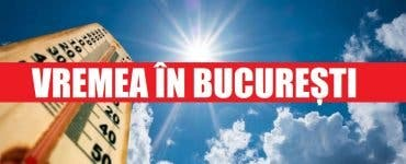 Vremea în București joi 23 aprilie. ANM anunță o creștere a temperaturilor