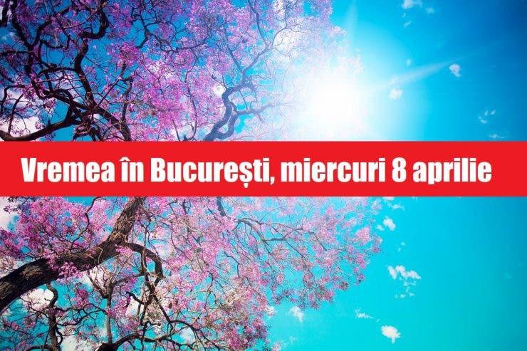 Vremea în București miercuri 8 aprilie. Meteorologii anunță 19 de grade C