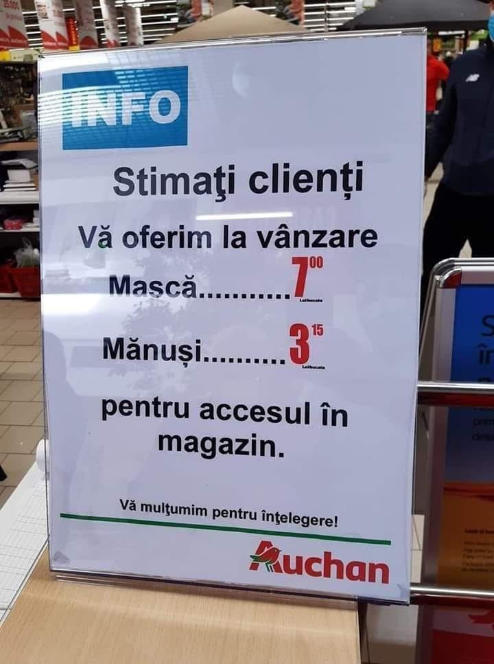 anunt magazin auchan