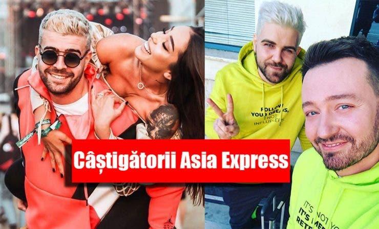 Câștigătorii Asia Express Speak și Stefania