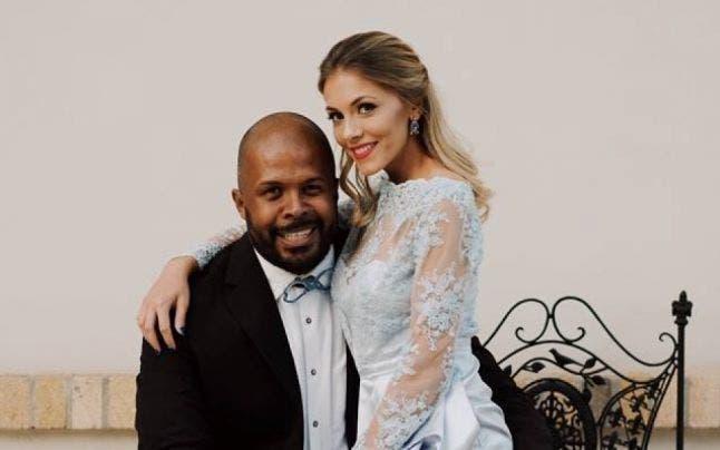 Cabral și Andreea Ibaka fiică