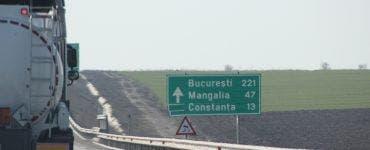 București spre Constanța, pe Autostrada Soarelui