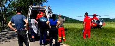 Scene dramatice la locul unui accident din Lugoj