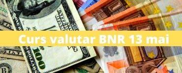 Curs valutar BNR 13 mai