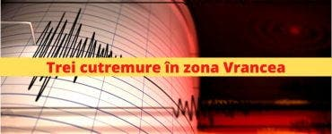 Cutremure in zona Vrancea