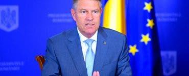 Declaratia Presedintelui Iohannis