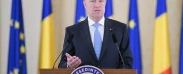 Klaus Iohannis declaratii