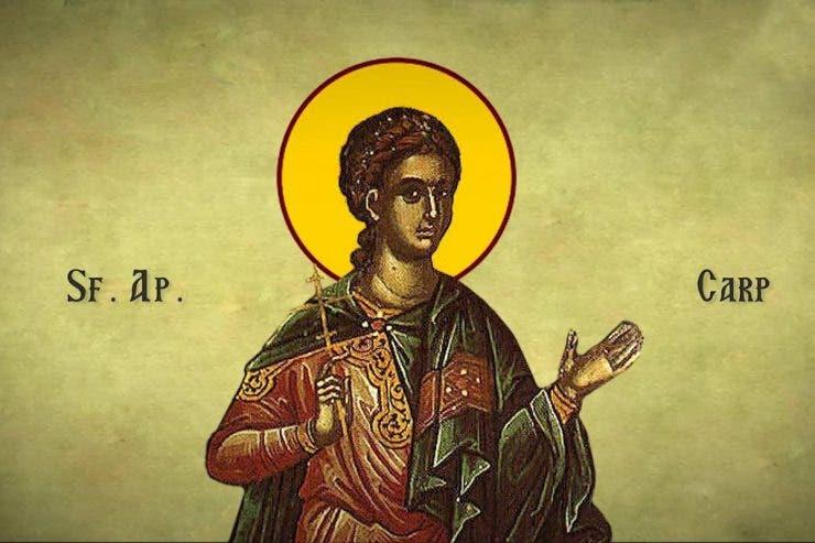 sărbătoare ortodoxă Sfântul Apostol Carp