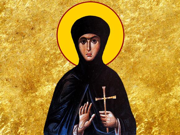 Prăznuiea Sfintei Teodosia fecioara