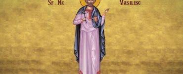 Sărbătoarea Sf Mucenic Vasilisc