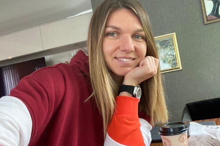 Simona Halep, antrenamente acasă!