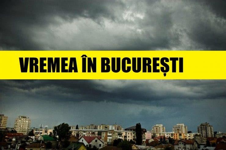 Vremea în București, 19 mai. Meteorologii spun că ne așteaptă o zi cu temperaturi ridicate, dar fără soare