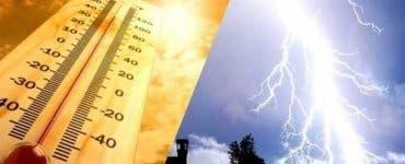 Vremea în România, 21 mai. Avertizare meteorologică de vreme rea în multe regiuni ale țării