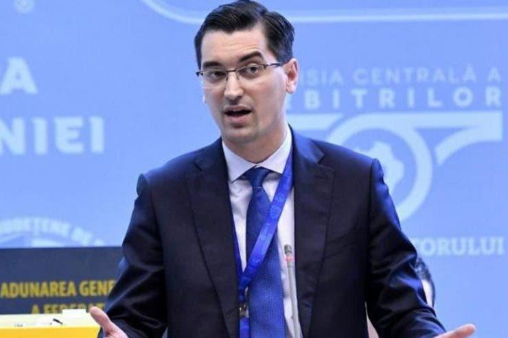 LPF, FRF, Răzvan Burleanu, Justin Ștefan,