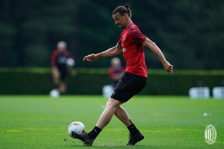 Zlatan Ibrahimovic, accidentare