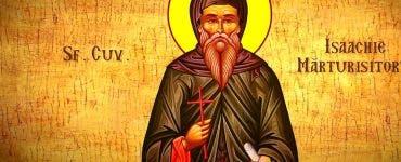 Sfântul Isaachie Mărturisitorul