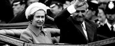 Întâlnirea lui Ceausescu cu Regina Elisabeta