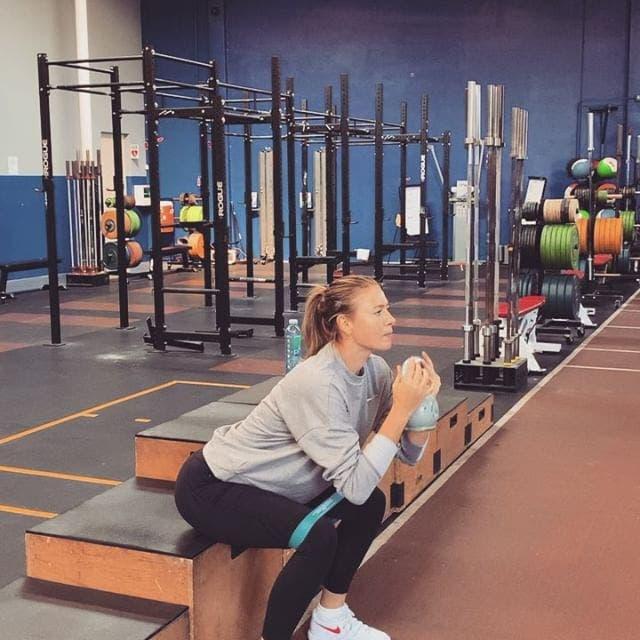 dieta, Maria Sharapova