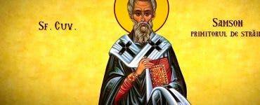 Calendar ortodox 27 iunie