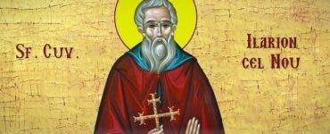 Sfântul zilei Sfântul Ilarion