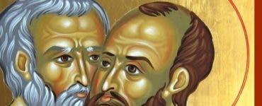 Sfintii apostoli Petru și Pavel