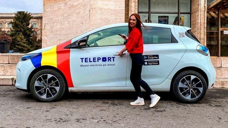 Teleport Car sharing