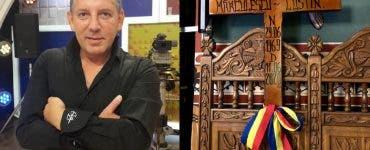 Unde și când va fi înmormântat Costin Mărculescu? Ce scrie pe crucea actorului