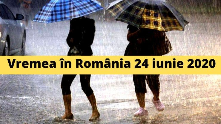 Vremea în România 24 iunie 2020
