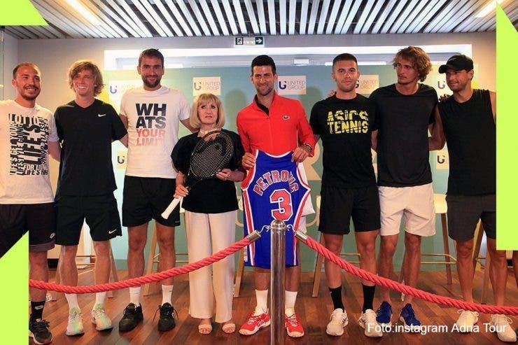 Novak Djokovic, coronavirus, Adria Tour