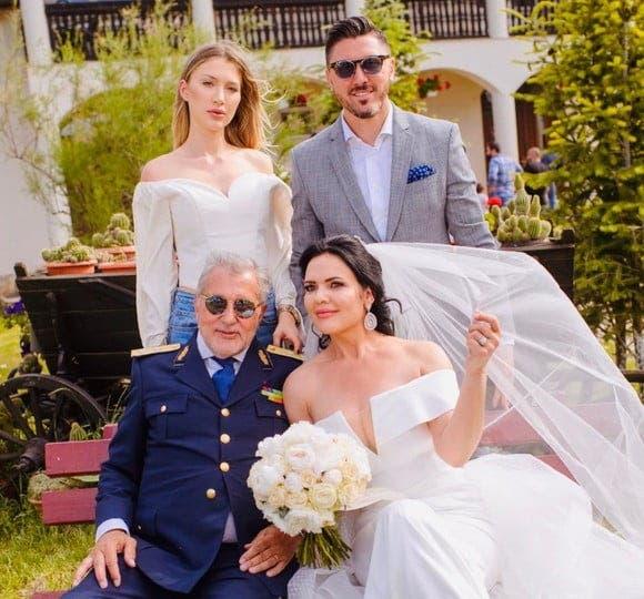 Ioana Simion și Ilie Năstase s-au căsătorit