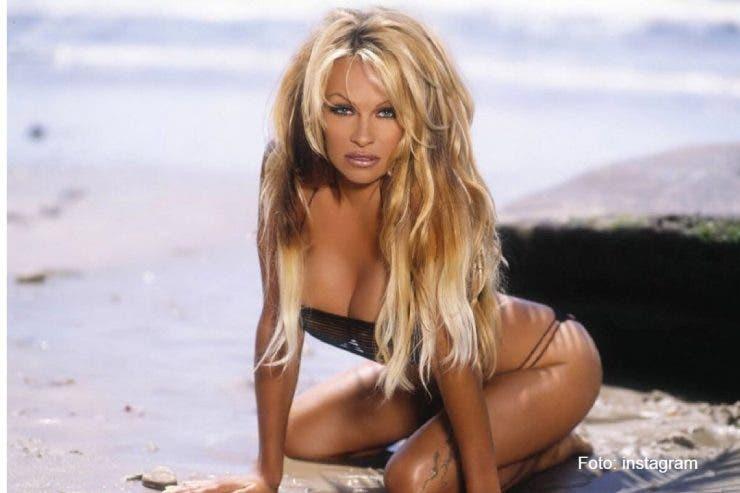 Pamela Anderson, Adil Rami, relatie