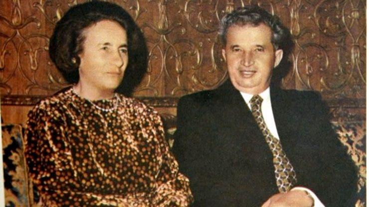 Elena si Nicolae Ceausescu