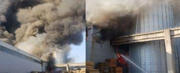 Incendiu puternic in Bragadiru