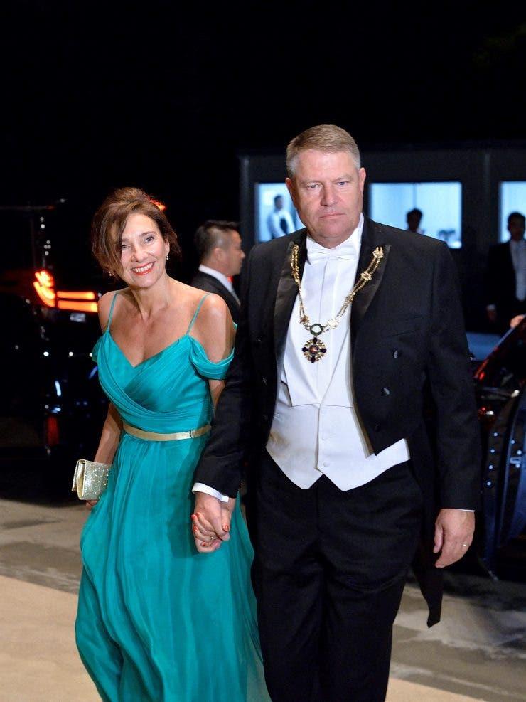 Klaus si Carmen Iohannis