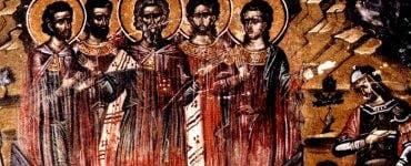 Sfintii 45 de Mucenici
