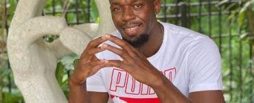 Usain Bolt tata, atletism