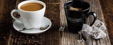 cafea și ceai negru