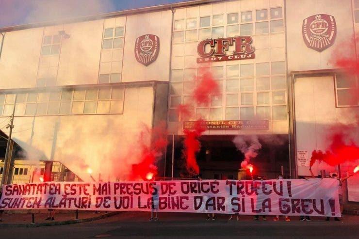 CFR Cluj, teste covid,